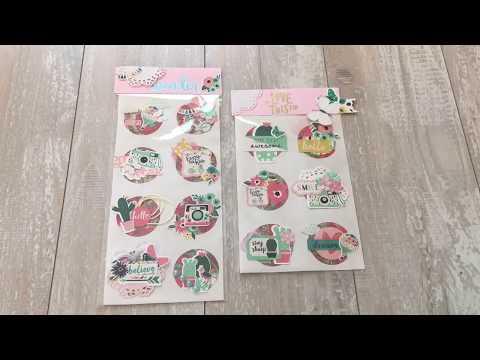 DIY sticker  embellishments