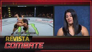 Revista Combate: Ketlen Vieira fala sobre o Judô no MMA