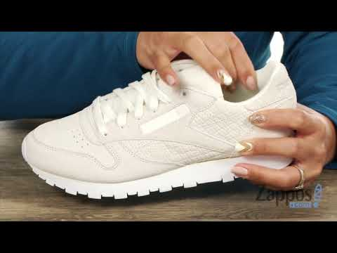 7c543b3a65937d Reebok Lifestyle Classic Leather Woven Embossed SKU  9038616