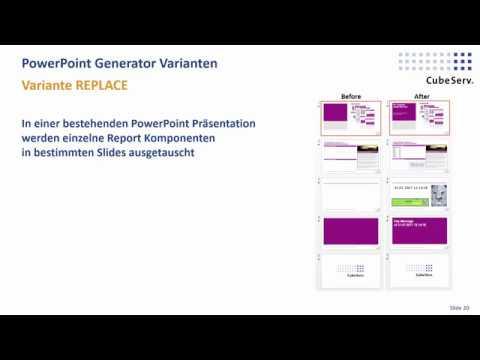 CubeServ PPT Generator Teil 3 V2 Demo – Variante REPLACE