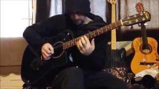 Bullseye Theme Tune on Guitar