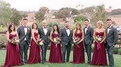 Stunning Marsala Bridesmaid Dress Ideas For Fall Weddings