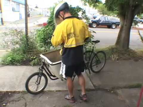 Cargo bikes that can beat cars: PedEx couriers in Oregon
