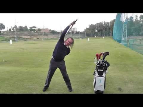Miguel Angel Jimenez: Watch his unique warm-up routine