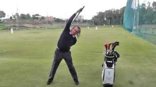 Watch Miguel Angel Jimenez's Unique Warm-Up Routine   Golf Monthly