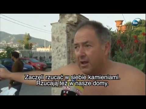 Imigranci napadają mieszkańców na wyspie Lesbos   2