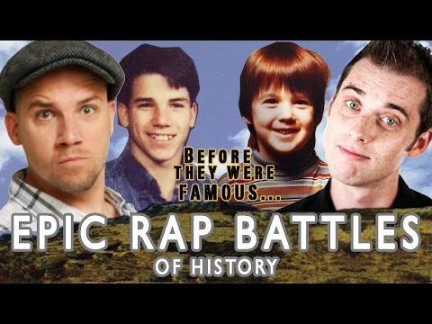 Epic Rap Battles Of History - Before They Were Famous