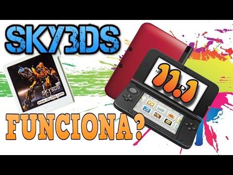 Sky3DS funciona en Nintendo 3DS 11.1? (Dar-kun Nabo Studio)