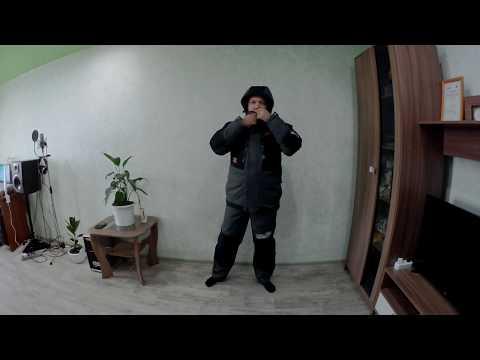 Norfin Discovery 2 -  мой видеообзор на костюм для зимней рыбалки фирмы Норфин