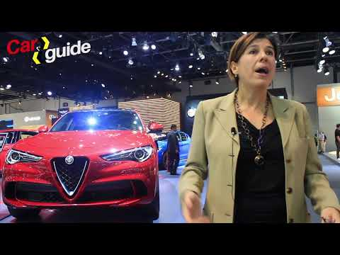 We meet Roberta Zerbi, Head of Alfa Romeo brand for the EMEA region, at the Dubai International Moto