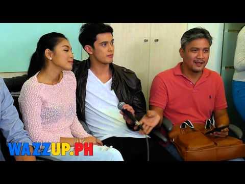 Part 7 Bloggers Conference Para Sa Hopeless Romantic James Nadine Lustre Inigo Julia Shy AJ