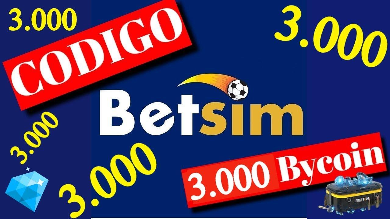 Codigo NUEVO de betsim para 3000 Bycoin de bonus