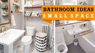 50+ Small Bathroom Ideas to Optimise Your Small Space