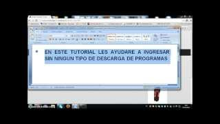 Como entrar a OUTLOOK (hotmail)