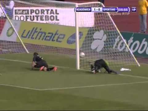 2012 -- Académica 1-0 Sporting (Jamor)