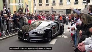 La Bugatti Chiron à 380 km/h sur le circuit des 24H du Mans !