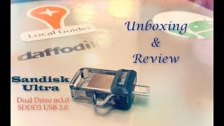 SanDisk ULTRA DUAL DRIVE M3.0 | SanDisk USB OTG pendrive | MMID BD | Unboxing and Review - 2017
