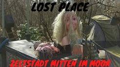 LOST PLACE - Die ZELTSTADT Mitten Im MOOR + LEICHE GEFUNDEN 😱 Wir Rufen die Cops 🚓 🚨 🚓