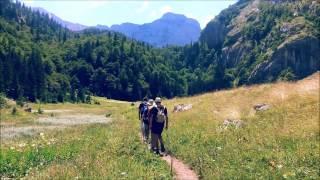 Hiking on Trnovacko Lake in Montenegro 2015