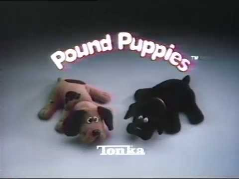 Pound Puppies Commercial 1986