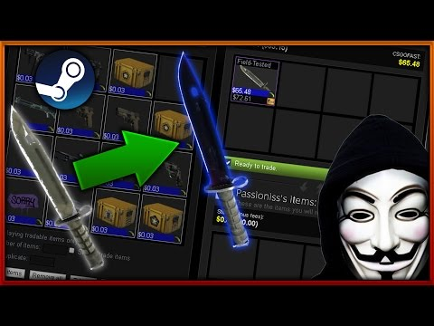 TROLLING SCAMMERS PART #1 // SCAMMER IS FRIEND WITH STEAM WORKER! :O
