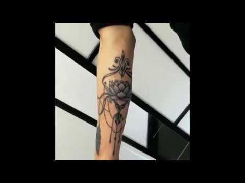 Tatuaggio ornamentale eseguito da GRETA