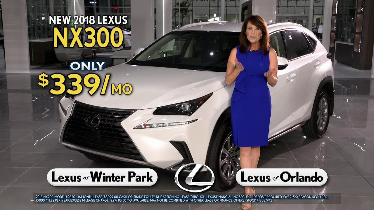 Lexus Of Winter Park Lexus NX Spring Collection Sales - Winter park car show 2018