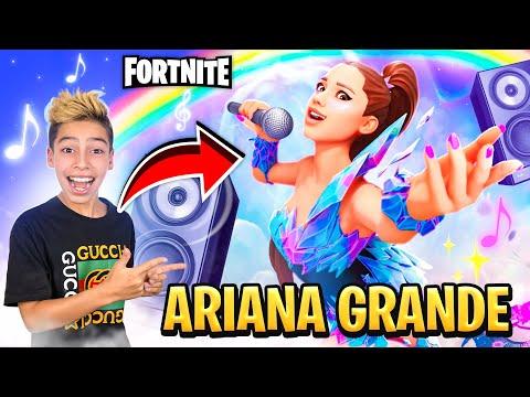 i Became ARIANA GRANDE in FORTNITE!!! 😱 | Royalty Gaming