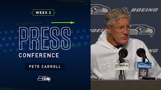 Head Coach Pete Carroll Postgame Press Conference vs Saints   2019 Seattle Seahawks