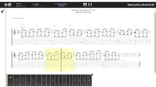 Intro Bay Giữa Ngân Hà - Nguyễn Văn Chung (tab guitar Athysirus)