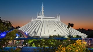 Space Mountain Complete Experience HD Magic Kingdom Walt Disney World