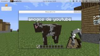 como nombrar animales en minecraft :)