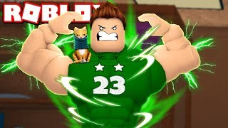 WE BECOME THE MOST POWERFUL OF ROBLOX Rovi23 Roblox Super Power Training Simulator