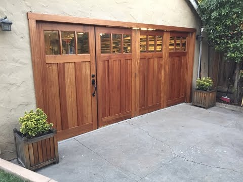 Carriage Doors- Construction