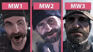 Call of Duty Modern Warfare Evolution – Part 1 (2007), 2 (2009) & 3 (2011) Graphics Comparison