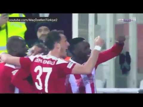 Sivasspor 2-1 Galatasaray HD maç özeti 04/02/2018