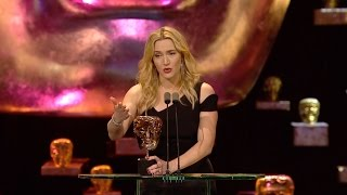 Kate Winslet wins Best Supporting Actress award - The British Academy Film Awards 2016 - BBC One