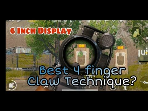 Pubg Mobile Easy 4 Finger Claw Techniques Control Layout For 6 Inch Display