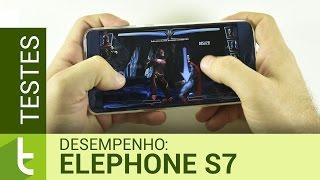 Desempenho do Elephone S7 | Teste de velocidade oficial do TudoCelular