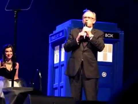 Dr Who Live 2015 Perth Arena with Peter Davison.