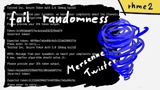 Defeat 2FA token because of bad randomness - rhme2 Twistword (Misc 400)