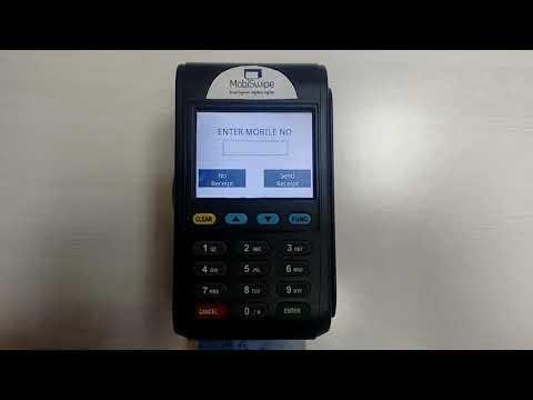 MobiSwipe Paytivo 6210 GPRS Terminal Demo Video - Sale
