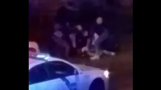 Raw: Philly Police Brutal Treatment Of A Man As He Screams For His Grandma