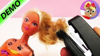 ZSZYWAMY włosy BARBIE! Haare! Odkrywamy nowe akcesoria do włosów? | Baw się ze mną