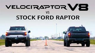 Hennessey V8 Raptor vs Stock Ford Raptor Comparison thumbnail