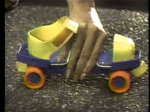 Fisher Price Roller Skates 1984 TV Commercial