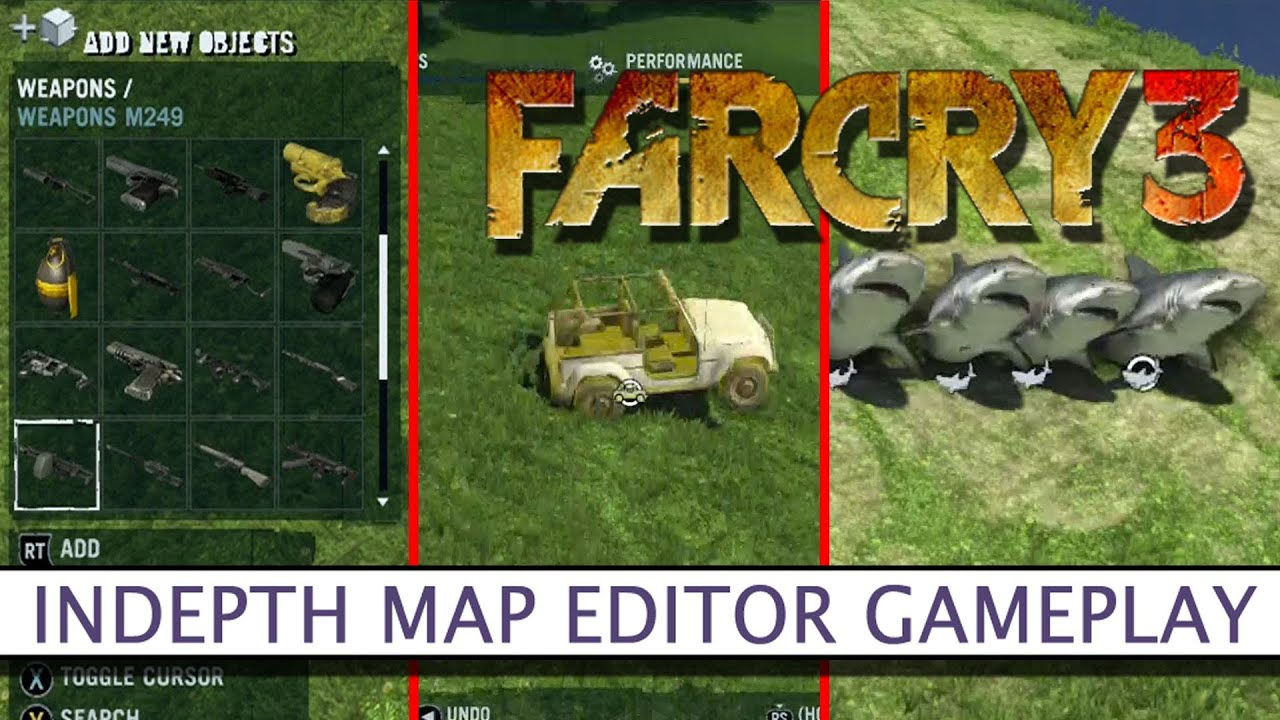 Far cry 3 map file far cry 3 mod db.