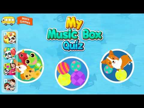 My Music Box Quiz | Baby Panda Learn and Play