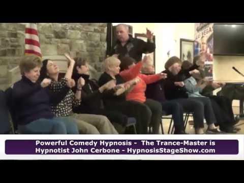 Trance-Master Hypnosis Show Highlights – 55+ Community Event - World Famous Hypnotist John Cerbone