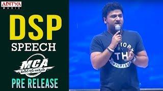 Devi Sri Prasad Speech @ MCA Pre Release Event || Nani, Sai Pallavi || DSP